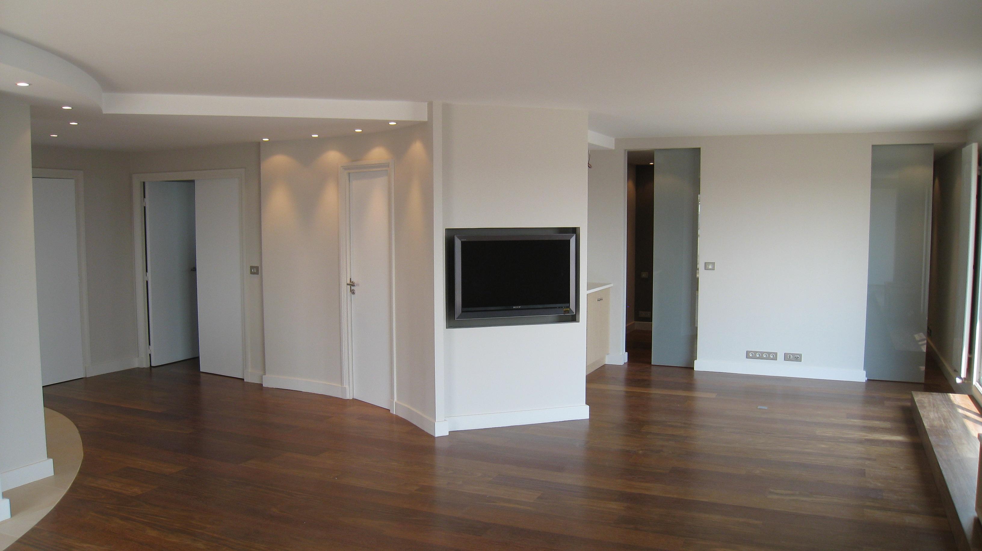 Appartement en espace ouvert neuilly sur seine for Architecte interieur cuisine ouverte