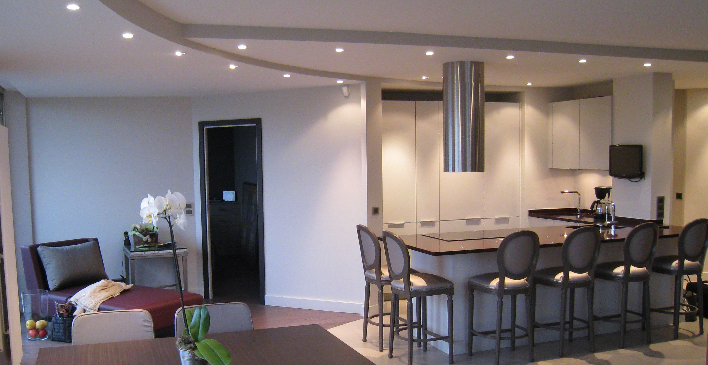 Cercle en appartement duplex neuilly sur seine for Architecte d interieur le mans
